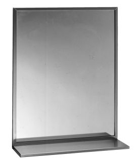 Bobrick-Slider5-WA-Mirror with Shelf