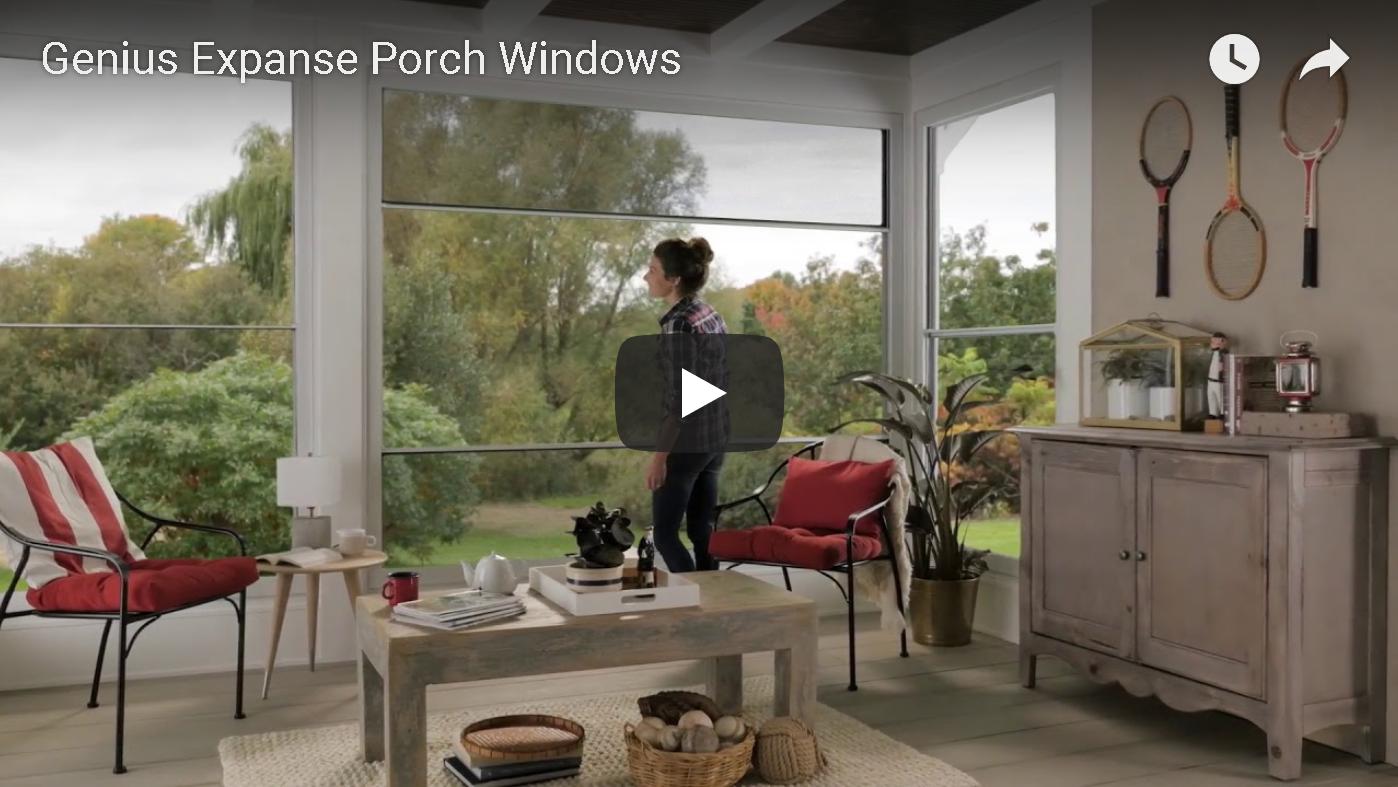 Genius Expanse Porch Window
