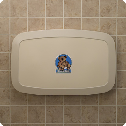 Koala-Slider3-WA-Horizontal Baby Changing Station