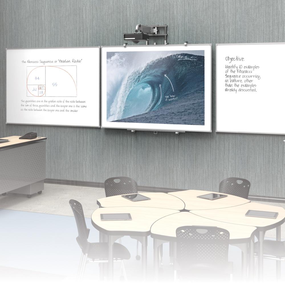 Mooreco-Slider12-interactive-projector-board-with-brio-trim