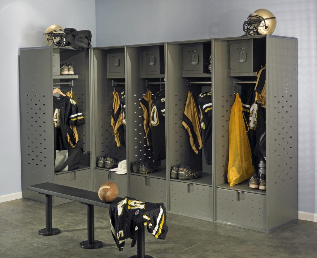 Scranton-Lockers-Athletic-football-locker--benches_6056150414_o